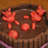 Sauereien im Internet - meine erste Schweinetorte
