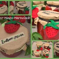 Dreamteam: Erdbeermarmelade mit frischer Minze