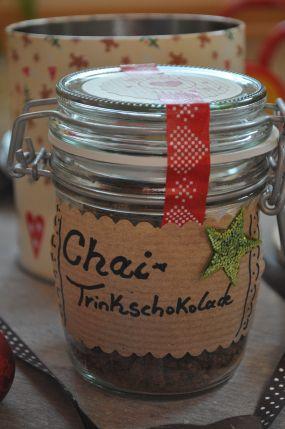 Geschenke aus meiner Küche - Chai-Trinkschokolade - little. red ...