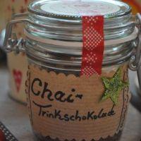 Geschenke aus meiner Küche - Chai-Trinkschokolade
