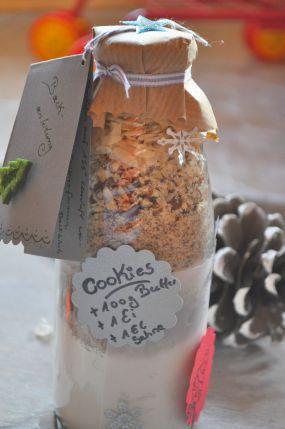 Geschenke Aus Meiner Küche - Cookie-Mix In Der Flasche Und Ein