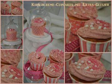 Kirschcreme-Cupcakes