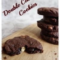 Heute bei unseren Cookiewochen: Double Chocolate Cookies