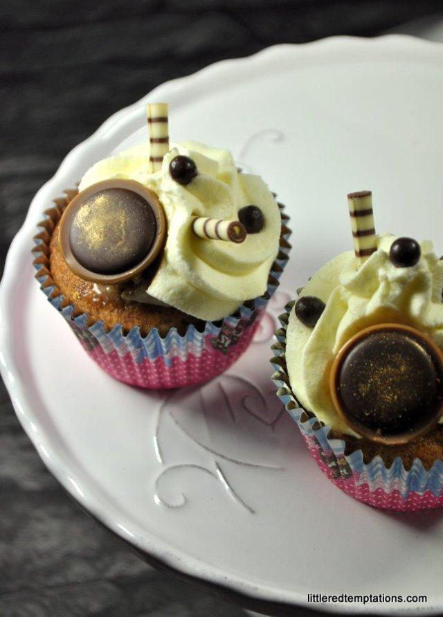 Apfelkompottcupcakes