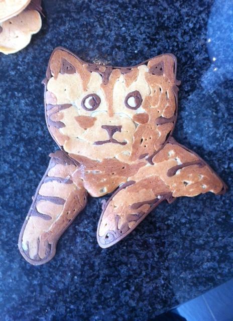 pancakeart Katze Pancake-Art