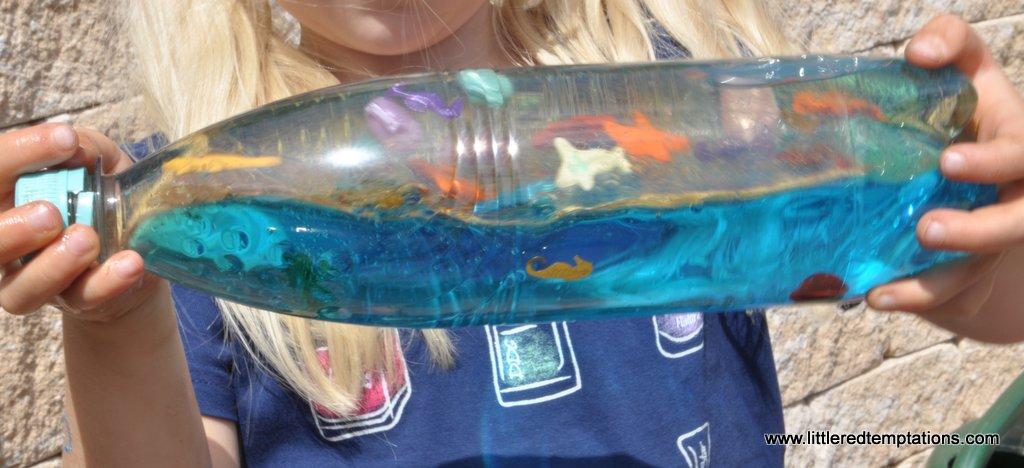 Ozean In Der Flasche Basteln Mit Kindern Ideen Fur Den Sommer