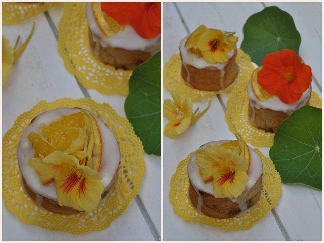 Orangen-Zitronen-Törtchen