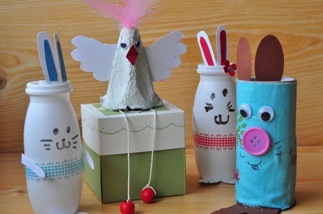 Ostern Basteln mit Kindern