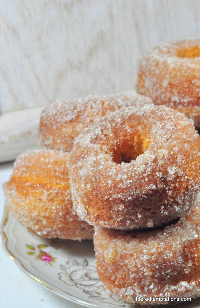 Donuts aus dem Ofen