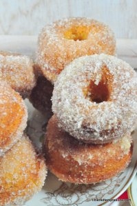 Rezept für Donuts aus dem Ofen gebacken