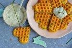 Ein einfaches Rezept für Kräuterwaffeln