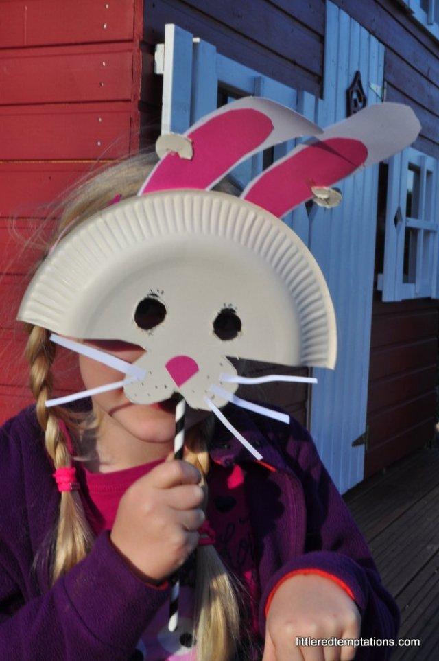 Osterhasen Maske