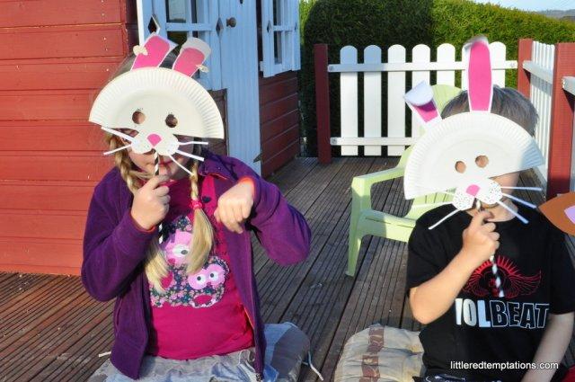 Osterhasenmasken